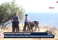 Antalyada intihar girişimi