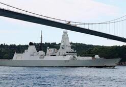İngiliz savaş gemisi İstanbul Boğazından geçti İran önlemi mi