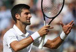 Wimbledonda ilk finalist Djokovic