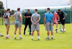 Trabzonsporda 7 oyuncuya özel antrenman