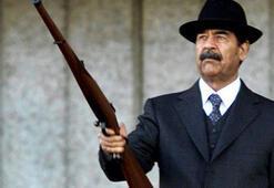 Irakta Saddam sloganları