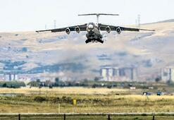 4'üncü uçak Mürted'e indi
