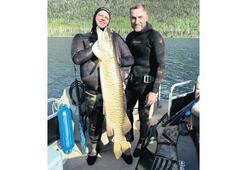 Eyalet rekoru kıran balık
