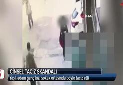 Torunu yaşındaki kıza sokak ortasında taciz