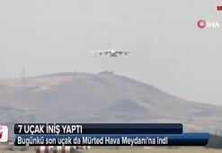 S-400 sevkiyatında 3. gün... 7. uçak da indi