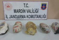 Suriye sınırında 7 kilogram plastik patlayıcı ele geçirildi