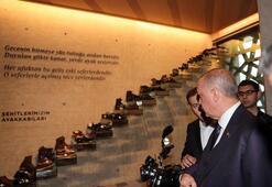 Cumhurbaşkanı Erdoğandan Hafıza 15 Temmuz Müzesine ziyaret