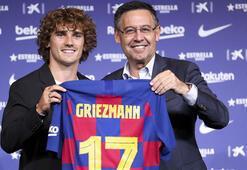 Barcelona, Griezmannı tanıttı