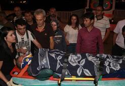 Berit Dağında yaralanan belediye çalışanı kurtarıldı
