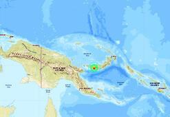 Papua Yeni Ginede 6.2 büyüklüğünde deprem