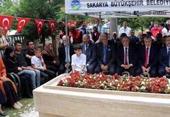 15 Temmuz şehidi polis memuru mezarı başında anıldı