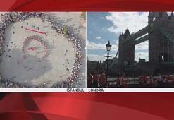 İstanbul ve Londrada aynı anda başladı