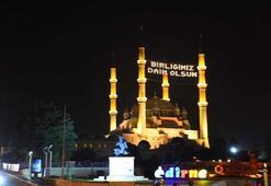Tüm Türkiyede sela Selimiyeden okundu