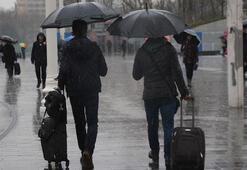 Meteorolojiden sağanak uyarısı Hava durumu bugün nasıl olacak