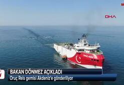 Oruç Reis gemisi Akdenize gönderiliyor