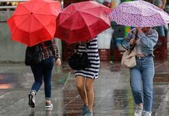 Bu bölgelerde yaşayanlar dikkat Kuvvetli yağış var