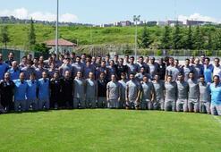 Trabzonsporda birinci hazırlık etabı tamamlandı