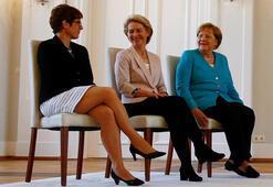 Almanyada Karrenbauer resmen Savunma Bakanı