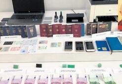 Pasaport çetesinin aile bağları da sahte çıktı