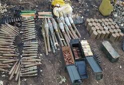 PKKnın sığınak ve barınakları imha edildi