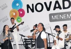 Novada'da teras konserleri sürüyor