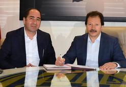 Ankaragücüne yeni sponsor 1 yıllık imza...