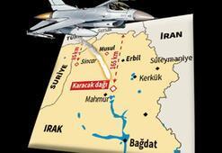 İHA'lar buldu  F-16'lar vurdu