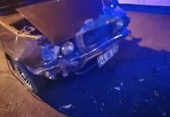 Kahramanmaraşta trafik kazası: 2 yaralı