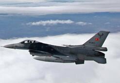 Türk savaş uçakları Metinayı vurdu