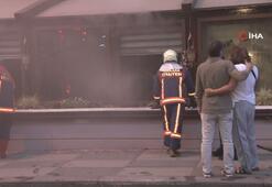 Başkentte restoranda yangın çıktı