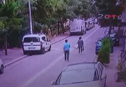 Sokakta yürüyen kadının telefonunu böyle çaldı