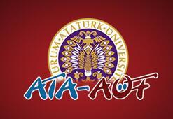 ATA AÖF üç ders sınavı giriş belgeleri yayımlandı