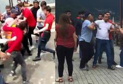 Uzungölde Iraklı turistlere tepki gösteren kişi hakkında inceleme