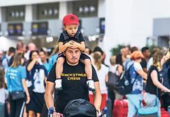 1 günde 96 bin turist geldi, hedef 100 bin