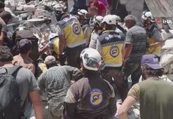 İdlibe hava saldırılarında ölen sivillerin sayısı arttı