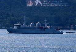 Rus, İngiliz, Amerikan ve Fransız savaş gemileri bir bir geçti