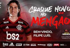 Filipe Luis resmen Flamengoda