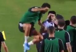 Ronaldodan güvenlik görevlisine unutulmaz şaka