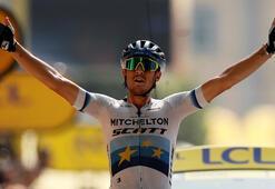 Fransa Bisiklet Turunun 17. etabını Trentin ilk sırada tamamladı