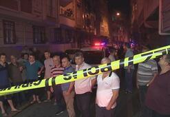 4 katlı binada yangın çıktı, 5 kişilik aile ölümden döndü