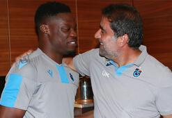 Calep Ekuban Trabzonspor kampına katıldı