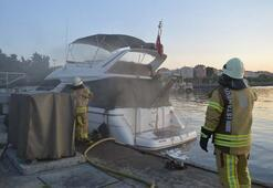İstanbulda iki aynı marinada yangın
