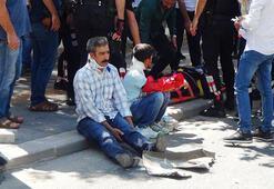 Diyarbakırda makas faciası 5i ağır, çok sayıda yaralı var