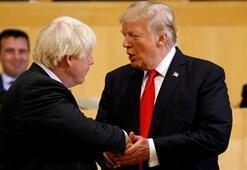 10 Numara açıkladı Johnson ile Trumptan kritik görüşme...