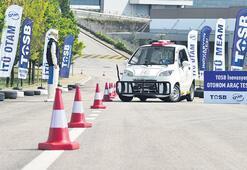 Sürücüsüz araçların test parkuru açıldı
