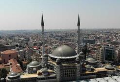 Taksim Camii'nin büyük bir bölümü tamamlandı