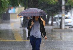 Meteorolojiden 3 il  için yağış uyarısı Hava durumu bugün nasıl olacak