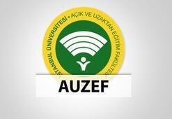 AUZEF sınav giriş belgesi nasıl alınır AUZEF bütünleme sınavı ne zaman
