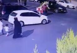 İstanbulda dehşet anları Yola atlayan çocuğu otobüs ezdi, annesi yol ortasında bayıldı
