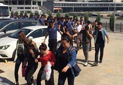 Dolandırıcı çetesinden 12 kişi tutuklandı
